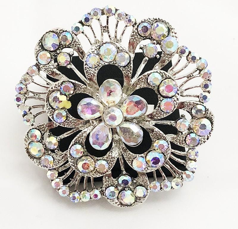 AB Crystal Diamante Ring 17