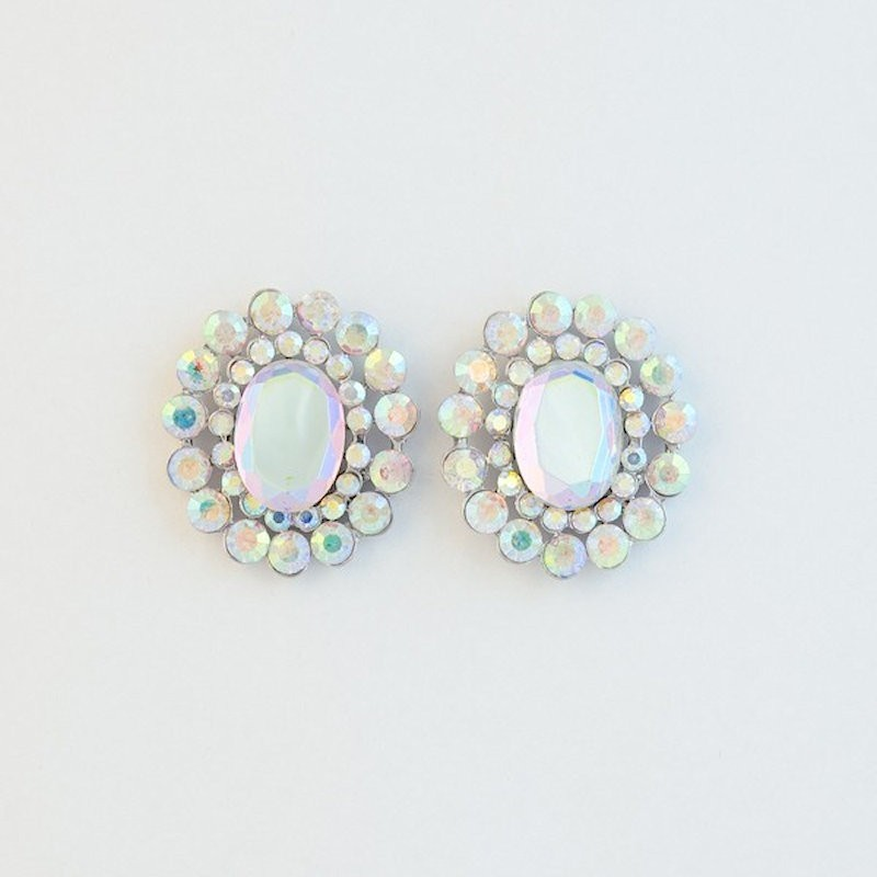 AB Crystal Diamante Earring S 22