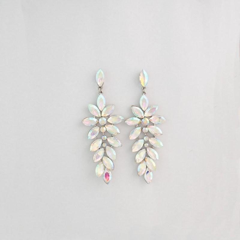 AB Crystal Diamante Showgirl Earring M 24