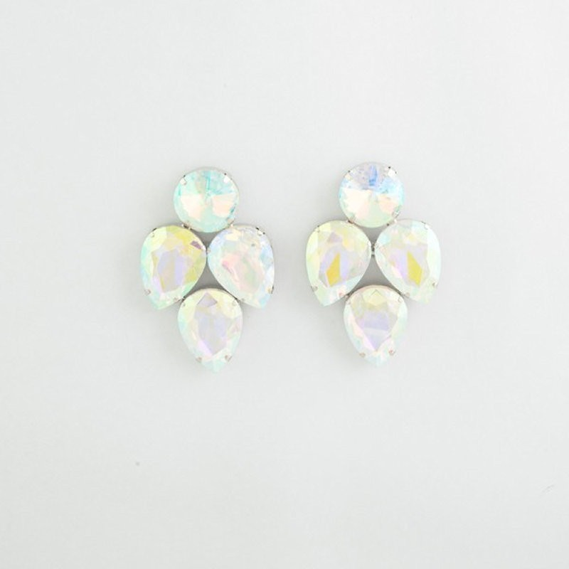 AB Crystal Earring S 14