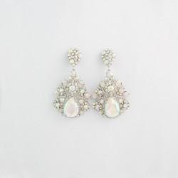 AB Crystal Diamante Earring M 22