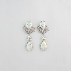 AB Crystal Diamante Earring M 18