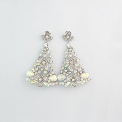 AB Crystal Diamanate Earring M 8