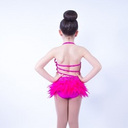 Feather Dress No 7 Hot Pink