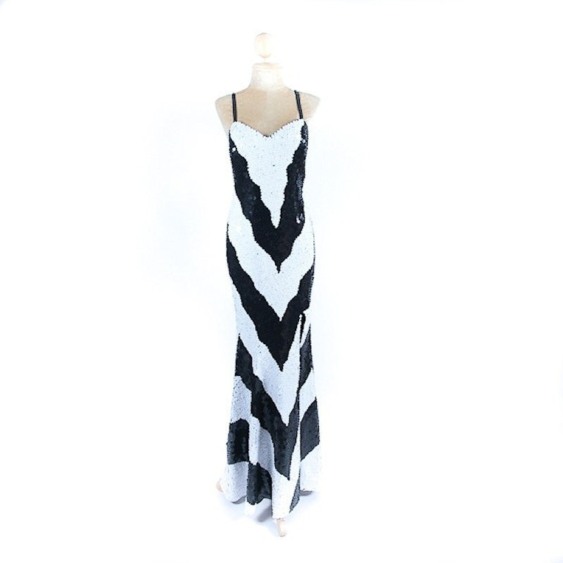 Long Sequin Dress Style 4