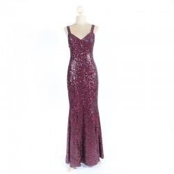 Long Sequin Dress 1
