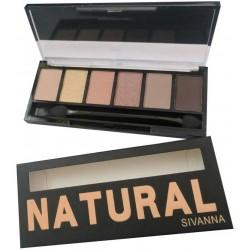 Sivanna Eye Shadow Pallet Natural
