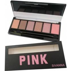 Sivanna Eye Shadow Pallet Pink