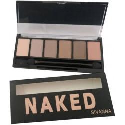 Sivanna Eye Shadow Pallet Naked
