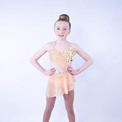 Chiffon Dress No 2 Apricot
