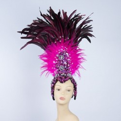 Tribal Feathered Headpiece...
