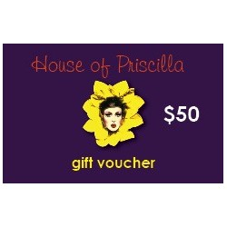 House Of Priscilla Gift Card $50.00