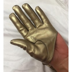Cropped Hand Finger Glove...