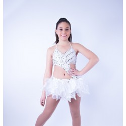 Candy Organza Costume - White