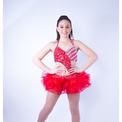 Candy Organza Costume - Red