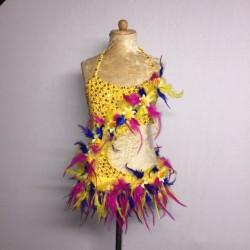 Lucy Flower Leotard -...