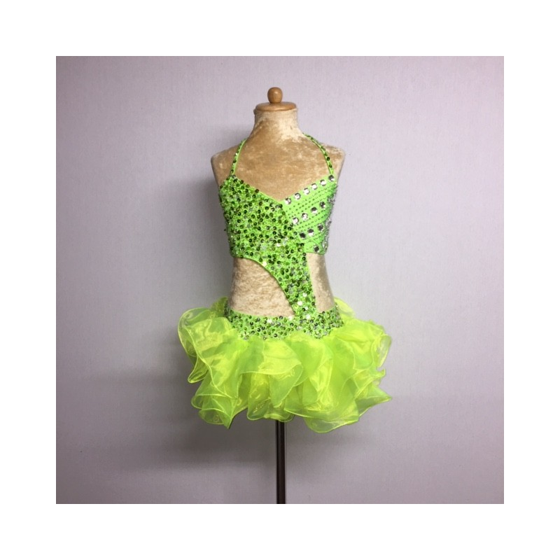 Candy Organza Costume Lime Green