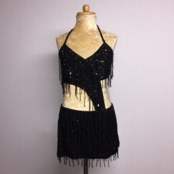 Candy Beaded Leotard with...