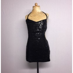 Kiki Sequin Dress - Black
