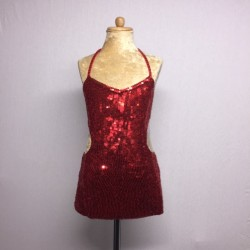 Kiki Sequin Dress - Red