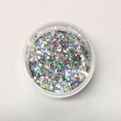 Chunky Glitter - Silver /...
