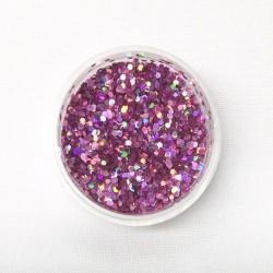 Chunky Glitter - Light Pink / Hologram