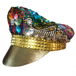Sequined Festival Hat -...
