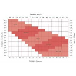 Capezio Size Chart