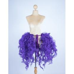 Organza Bustle Seaweed Skirt
