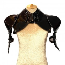 Black Gladiator Deluxe Shoulder Piece
