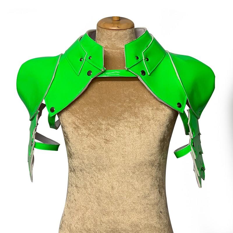 Neon Green Gladiator Deluxe Shoulder Piece