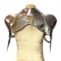 Silver Gladiator Deluxe Shoulder Piece