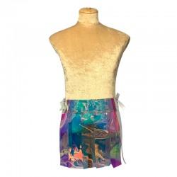 Vinyl Gladiator Skirt -...
