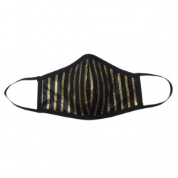 Fashion Mask - Chicago Gold