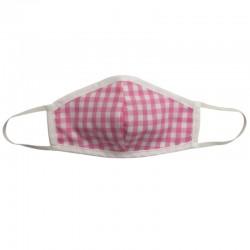 Fashion Mask - Pink Gingham