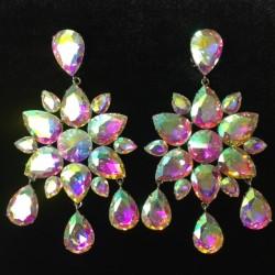 Dangle Earring - Crystal AB