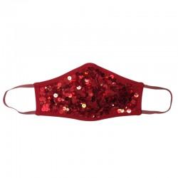 Fashion Mask - Night Red