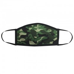 Fashion Mask - Camo Dark Green