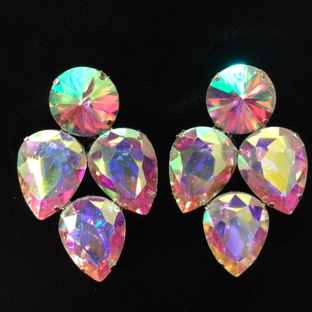 Aurora Borealis Crystal Earring S14