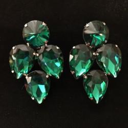 Green Crystal Earring S20
