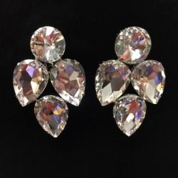 S13 Crystal Diamante Earring