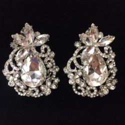 S11 Crystal Diamante Earring