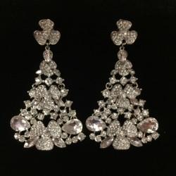 M17 Crystal Diamante Earring