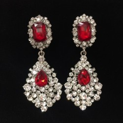 S31 Red Crystal Diamante...