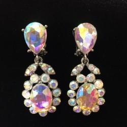 Aurora Borealis Crystal Diamante Earring S37