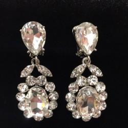 Clear Crystal Diamante Earring S40