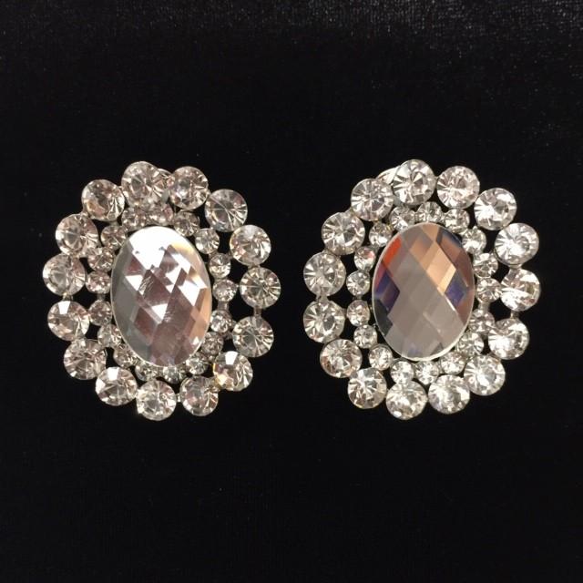 Clear Crystal Diamante Earring S45