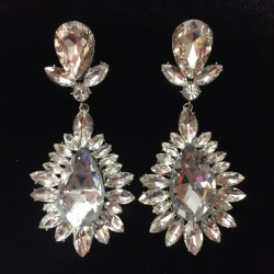 M37 Crystal Diamante Earring