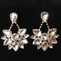 Boat Earring - Crystal