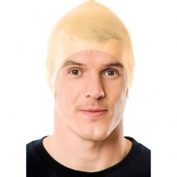 Rubber Bald Head Cap